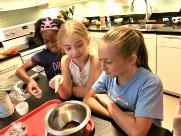 Making Chocolate Fondue