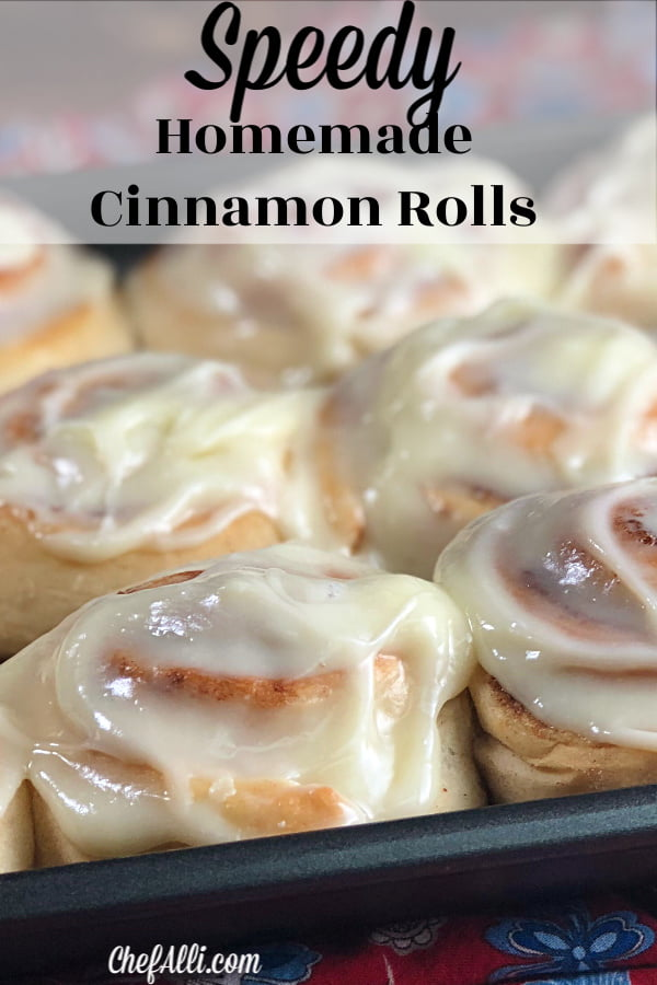 You are soon going to believe this is the best (and easiest) cinnamon roll recipe in the history of ever.  Why? Because you will always be successful with this recipe!