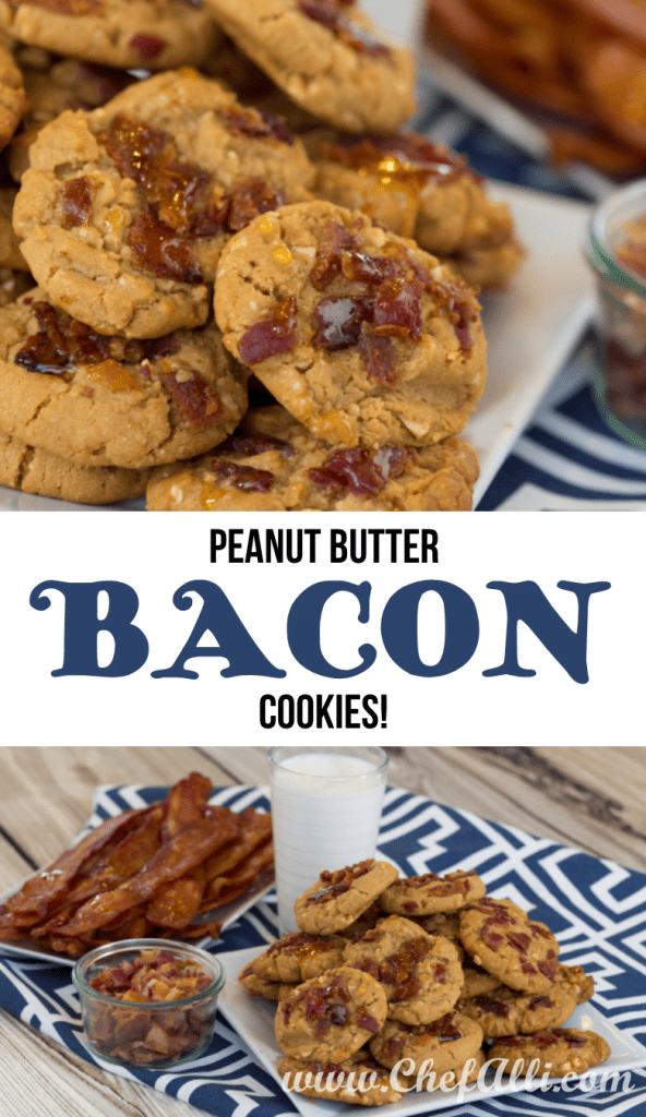 Amazing BACON Peanut Butter Cookies