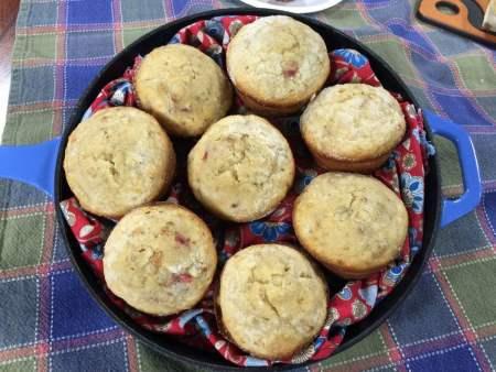 Cherry-Pecan Banana Muffins