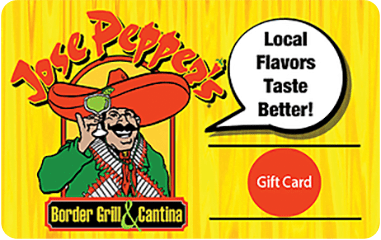 Jose Peppr's Gift Card