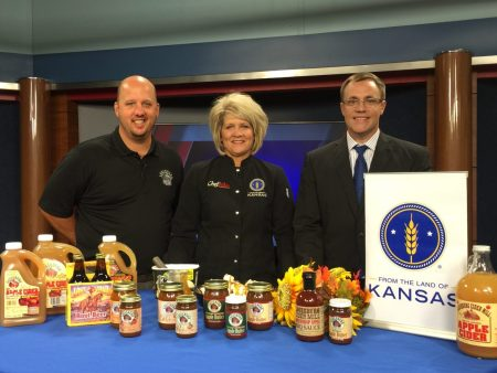 Louisburg Cider Mill at WIBW | Chef Alli's Farm Fresh Kitchen