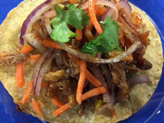 BBQ Pork & Veggie Tacos | Chef Alli's Farm Fresh Kitchen
