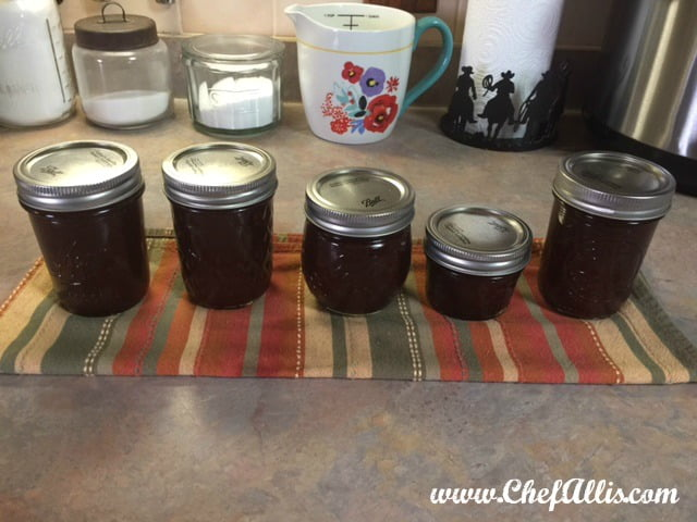 Instant Pot Cherry Apple Butter