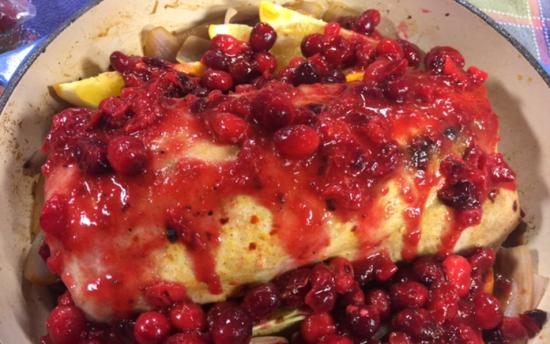 Cranberry Glazed Pork Roast | Chef Alli's Farm Fresh Kitchen
