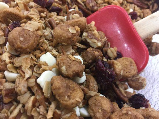 White Maple Peppernut Granola {Kansas State Fair} | Chef Alli's Farm Fresh Kitchen