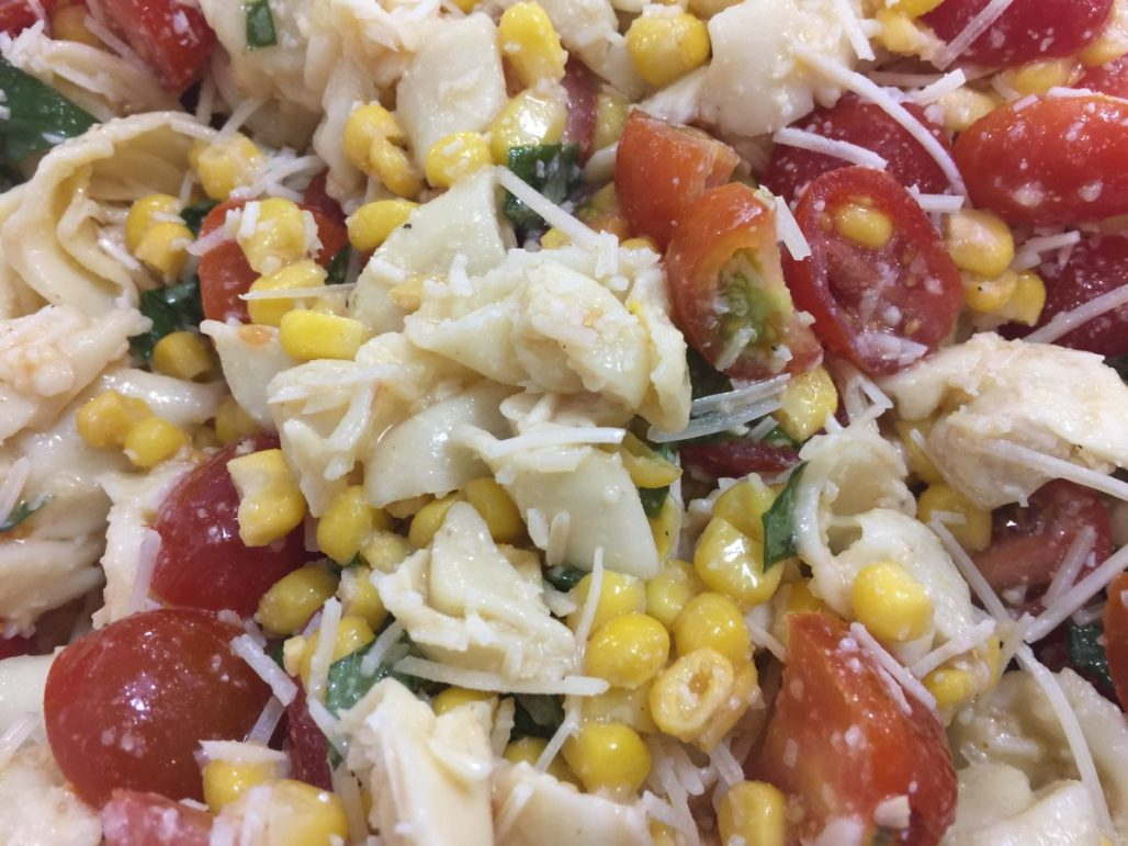 Tortellini Salad {Kansas State Fair} | Chef Alli's Farm Fresh Kitchen
