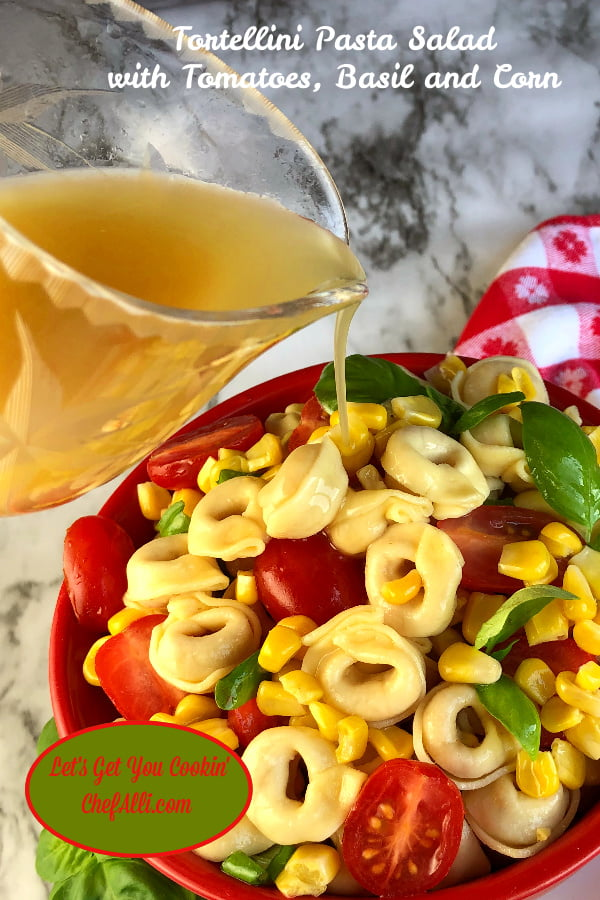 Summer isn't summer without Tortellini Pasta Salad.