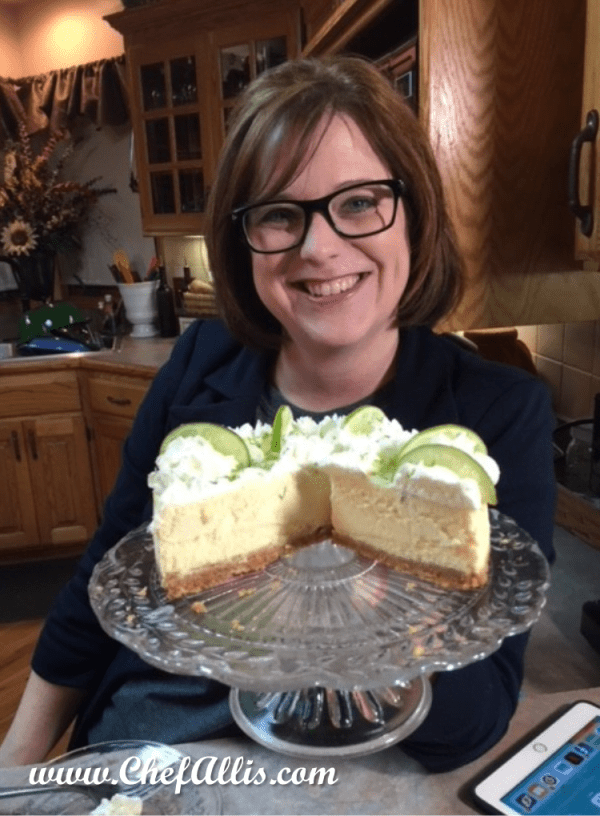 Instant Pot Key Lime Cheesecake