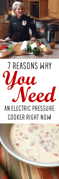 7 Reasons You Need an Electric Pressure Cooker Now   Chef Alli