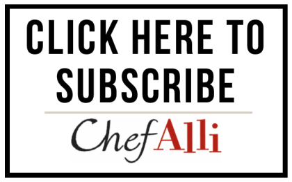 Subscribe to ChefAlli.com!