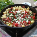 Summer Gnocchi and Sausage Skillet