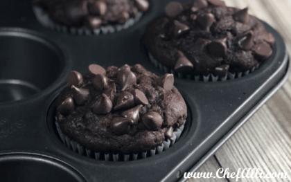 Super Moist Chocolate-Chip Muffins