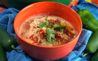 Low Carb Creamy Fiesta Chicken Soup