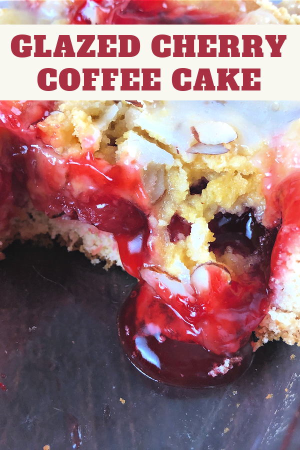 Grab a can of cherry pie filling and make a coffee cake!