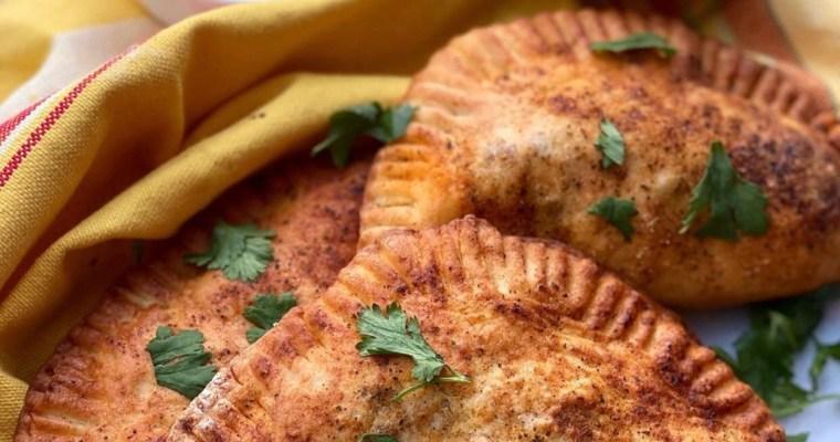 Healthy beef & cheese empanadas