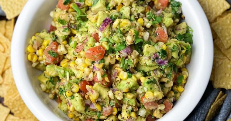 Charred Corn Guacamole