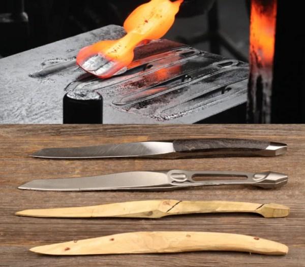 Sknife productie