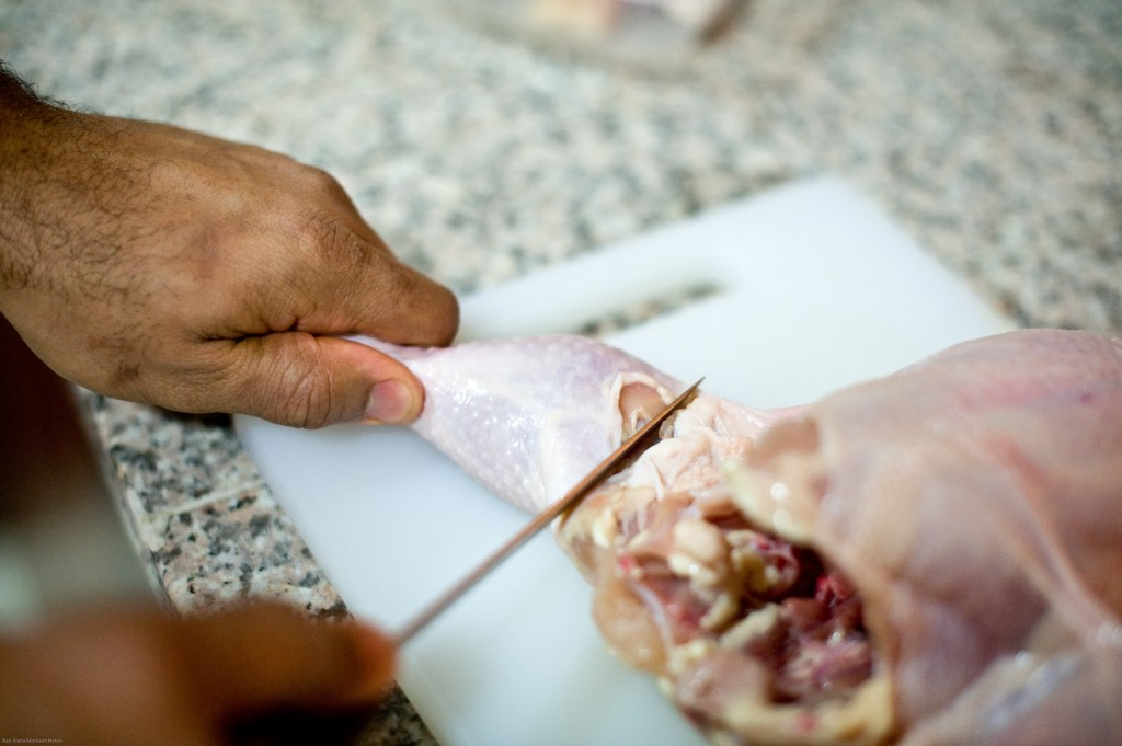 How to fabricate poultry