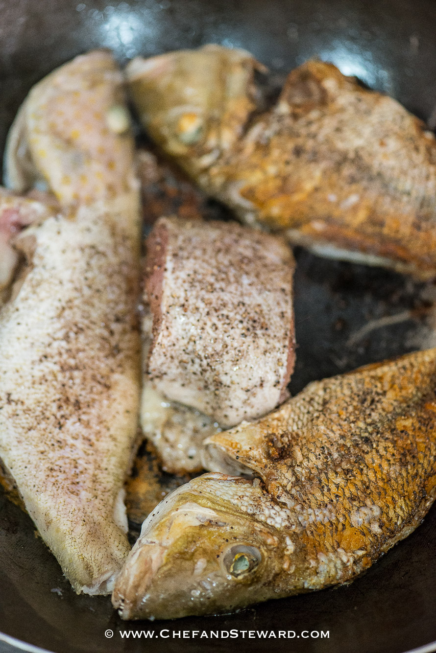 Jamaican Brown Stew Fish for Healthy Ramadan Recipe -2