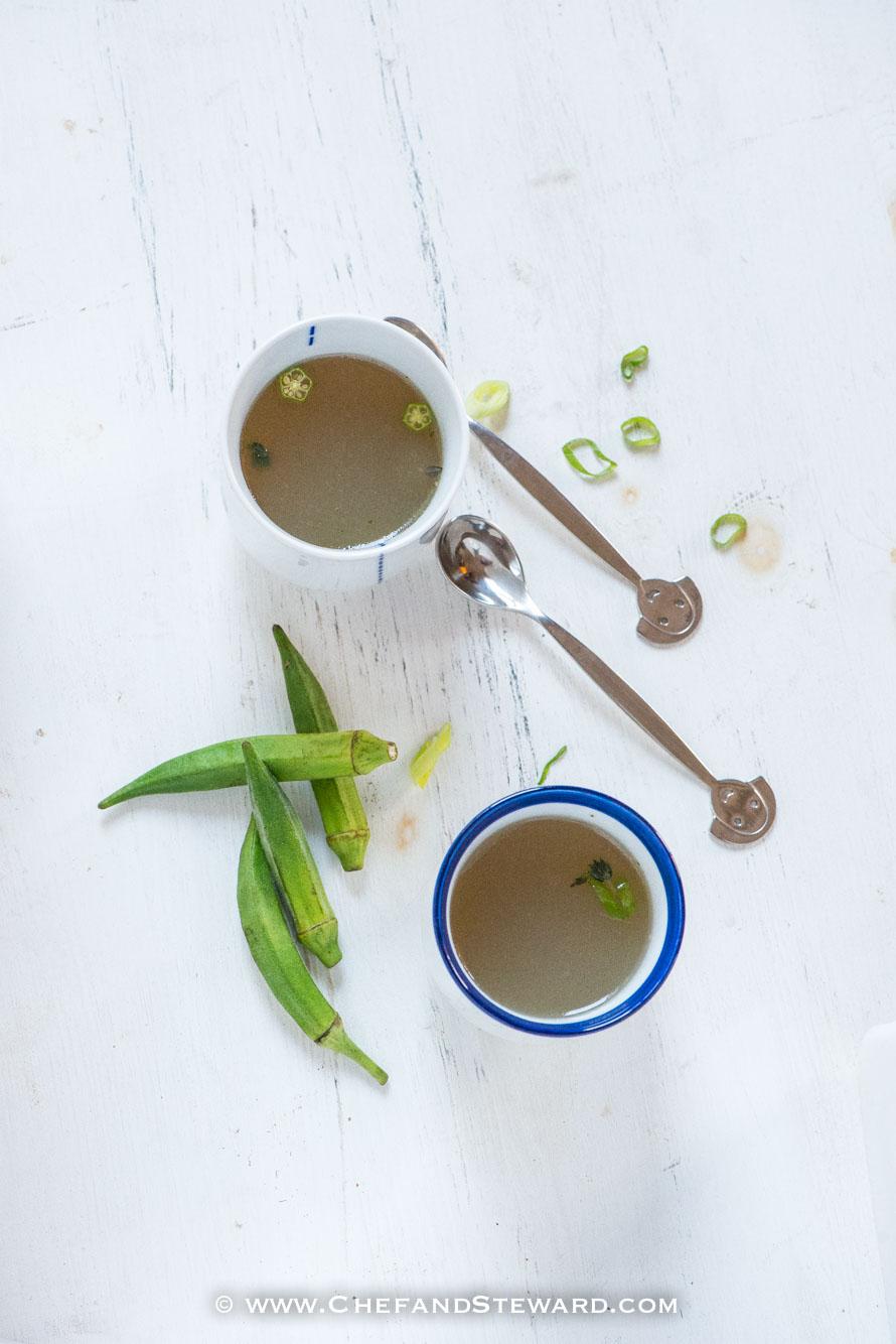 Spicy Jamaican Fish Tea Jamaican Fish Soup-2