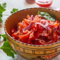 Kachumbari Tanzanian Tomato Salad