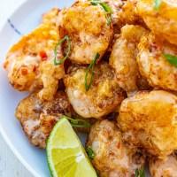 Bang bang shrimp better than Bonefish