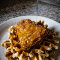 BEST Fried chicken and waffles