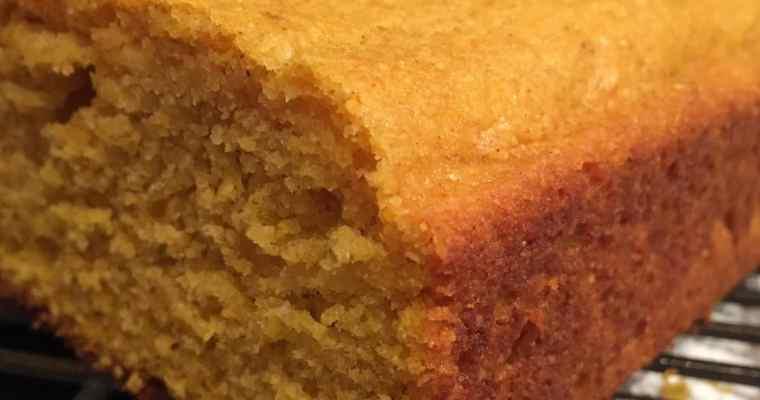 Pumpkin Pie Corn Bread
