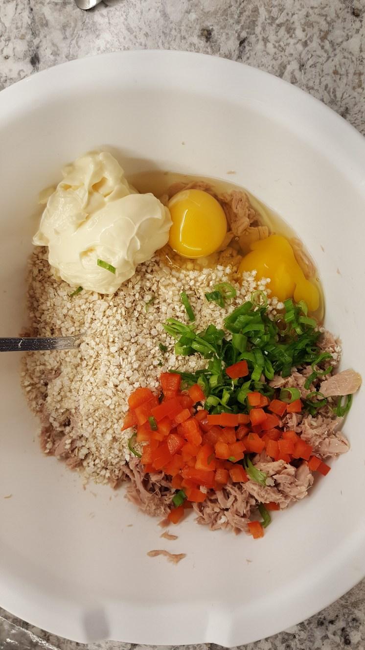 Gluten-free Tuna Cakes, Chef at Heart