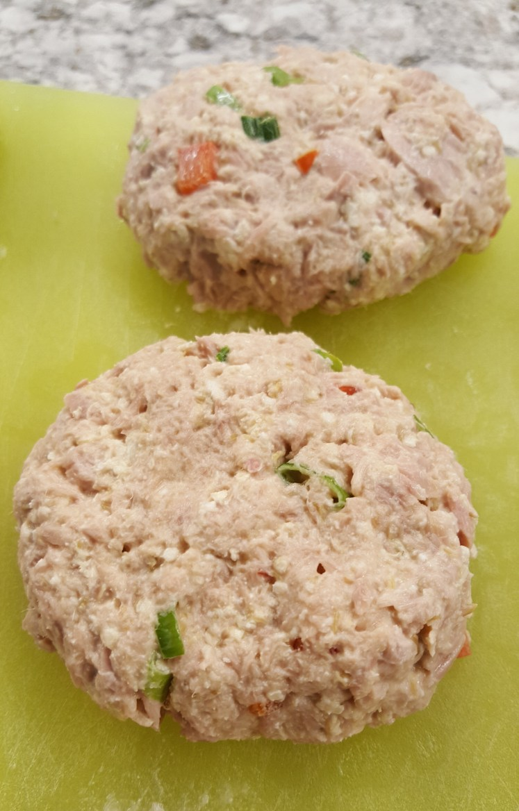 Gluten-free tuna cake patties, Chef at Heart
