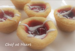 Cherry Cheesecake Tassies