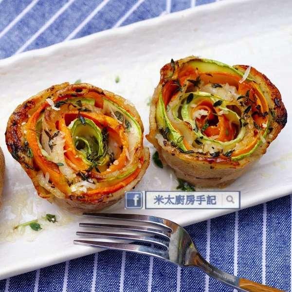 芝味豚肉蔬菜卷