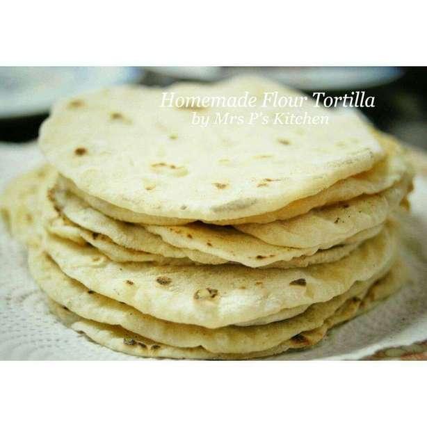 自製墨西哥薄餅Tortilla