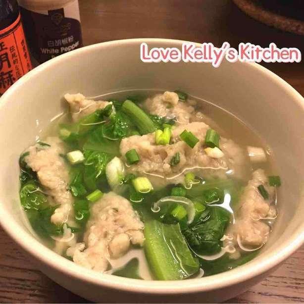 [10分鍾食譜] 港式生菜魚肉