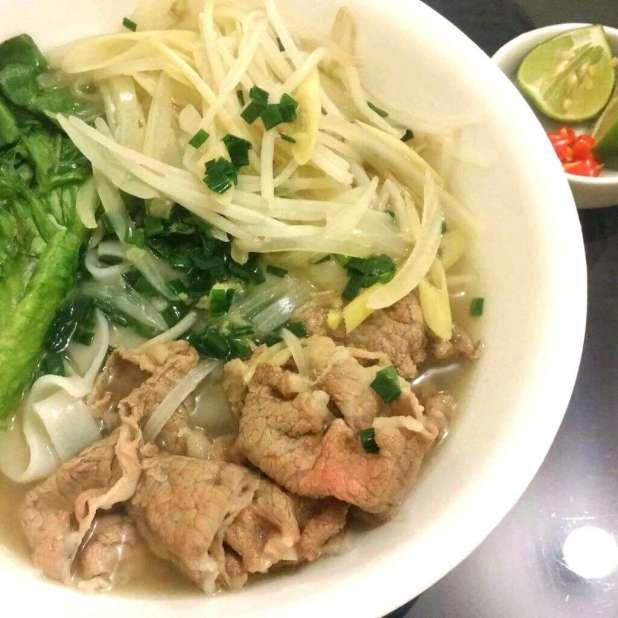 越南牛肉湯河