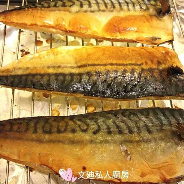 牛油鹽燒鯖魚