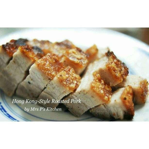 自製脆皮燒肉:燒腩仔