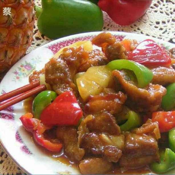 菠蘿生炒骨(sue蔡)