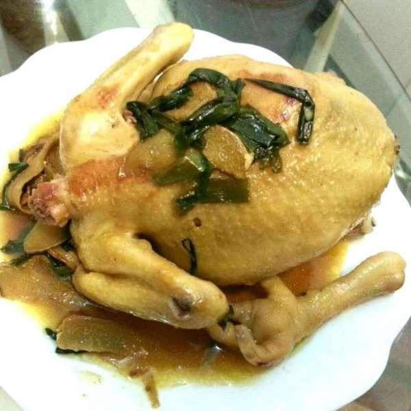 零技術飯煲薑葱麻油雞