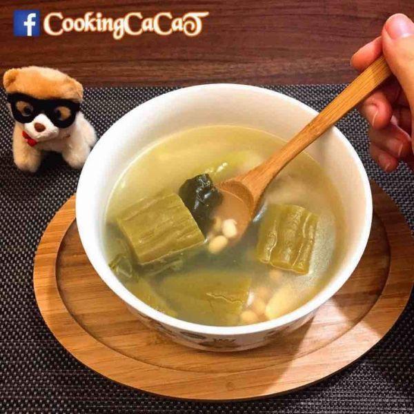 苦瓜酸菜排骨湯