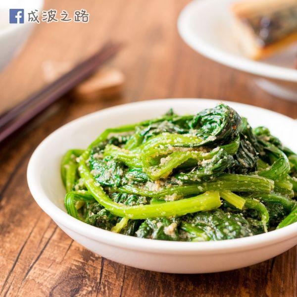 日式簡易前菜 - 涼拌芝麻菠菜