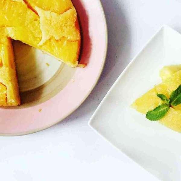 焦糖菠蘿蛋糕
