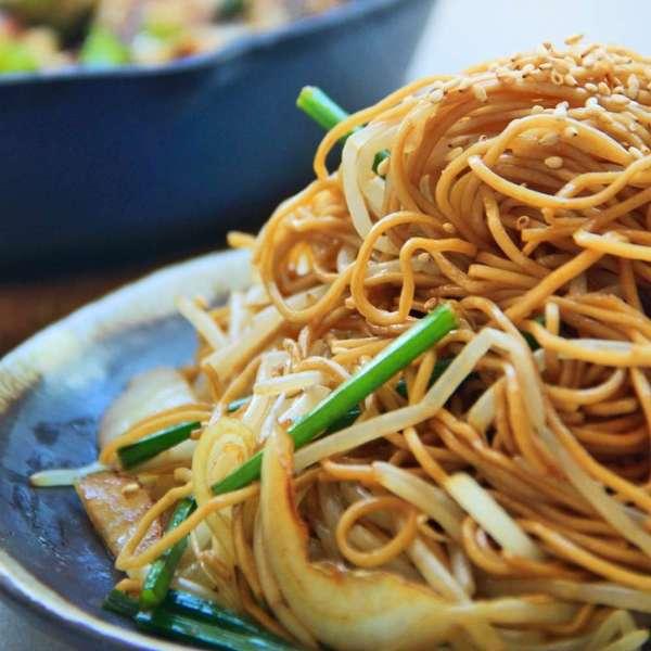 豉油皇炒麵-cooknight