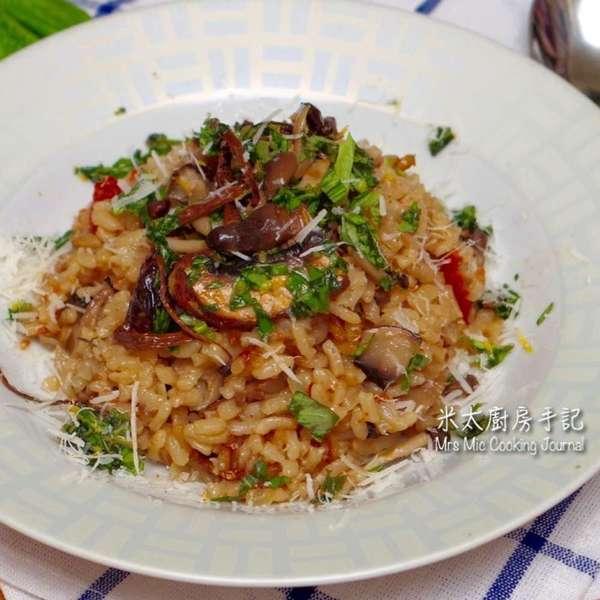雜菌意大利飯-電飯煲版