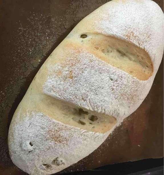 法國橄欖鄉村麵包