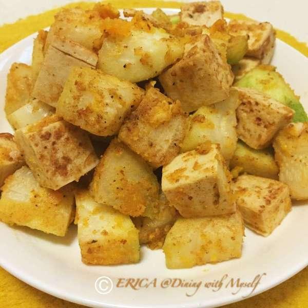黃金節瓜豆腐