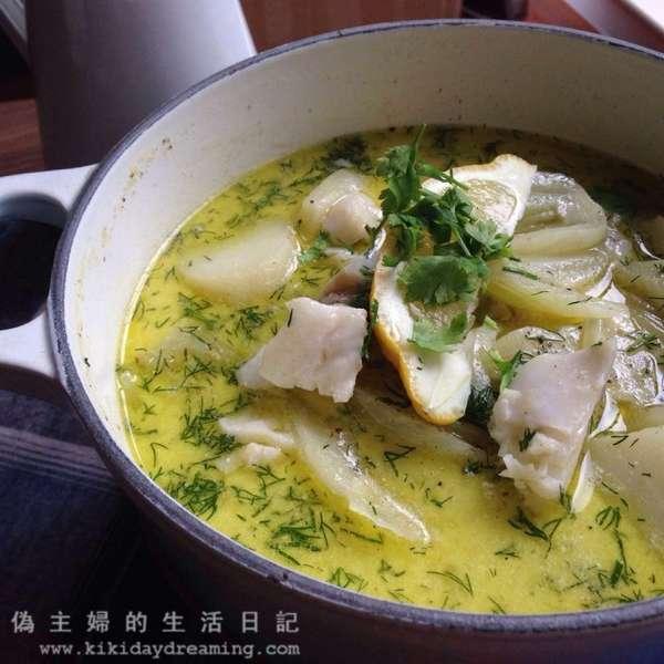時蘿茴香鱈魚鍋