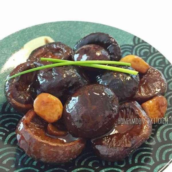 蠔油炆冬菇