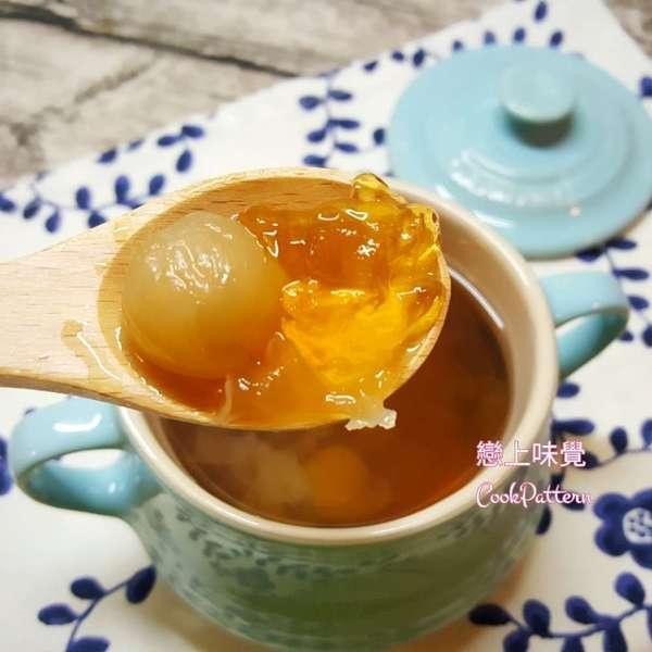 桂圓紅棗燉桃膠
